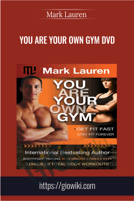 You Are Your Own Gym DVD - Mark Lauren