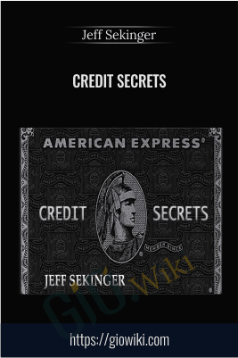 Credit Secrets - Jeff Sekinger