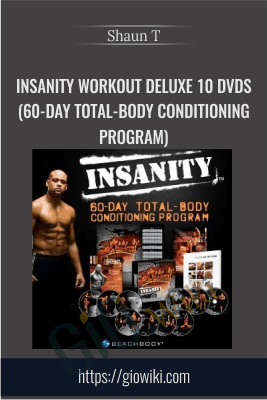INSANITY Workout Deluxe 10 DVDs (60-Day Total-Body Conditioning Program) - Shaun T
