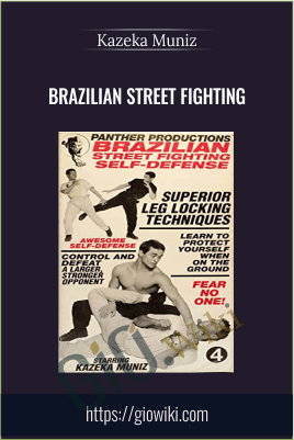 Brazilian Street Fighting - Kazeka Muniz