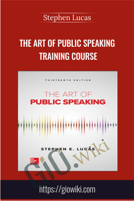 The Art of Public Speaking training course - Stephen Lucas