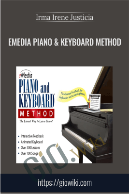 eMedia Piano & Keyboard Method - Irma Irene Justicia