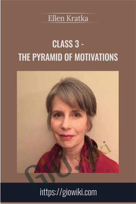 Class 3 - The Pyramid of Motivations - Ellen Kratka