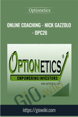 Online Coaching - Nick Gazzolo - OPC26 - Optionetics