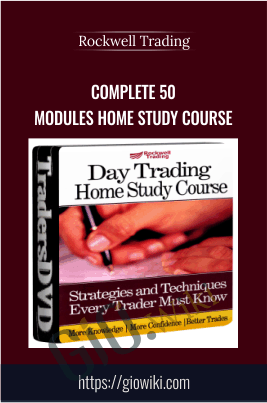 Complete 50 Modules Home Study Course - Rockwell Trading 2009