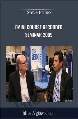 Emini Course Recorded Seminar 2009 - SpecialistTrading.com 17 Modules in 1 DVD - Steve Primo