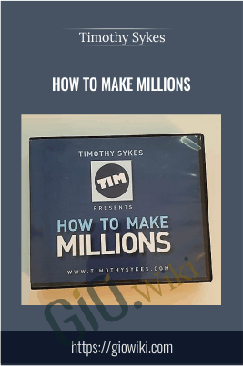 How to Make Millions 12 DVDs - Timothy Sykes