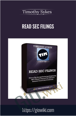 Read SEC Filings - 4 DVDs + Manual 2010 - Timothy Sykes