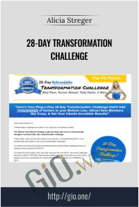 28-Day Transformation Challenge – Alicia Streger