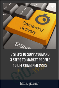 3 Steps To SupplyDemand 3 Steps To Market Profile 10 Off Combined Price