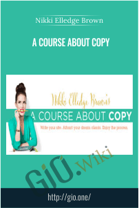 A Course About Copy – Nikki Elledge Brown