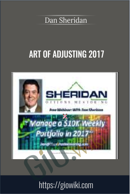Art Of Adjusting 2017 - Dan Sheridan