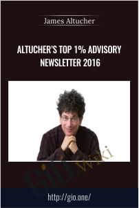 Altucher's Top 1% Advisory Newsletter 2016 – James Altucher