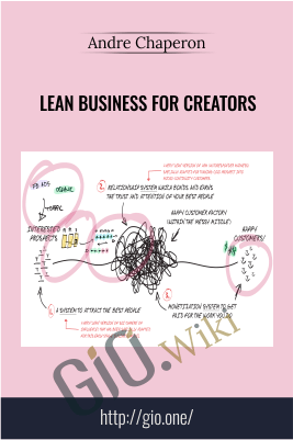 Lean Business For Creators – Andre Chaperon