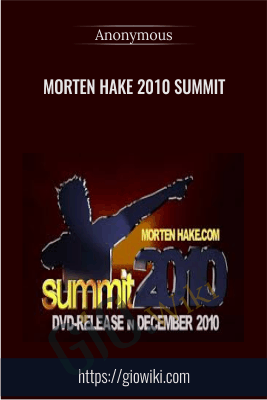 Morten Hake 2010 Summit