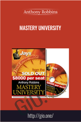 Mastery University – Anthony Robbins