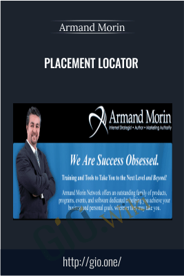 Placement Locator – Armand Morin