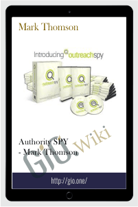 Authority SPY - Mark Thomson (AUTHORITYSPY - OUTREACHSPY TRAINING PROGRAM)