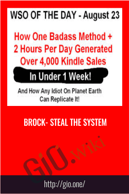 Brock- STEAL The System