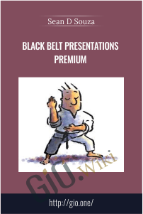 Black Belt Presentations Premium – Sean D'Souza