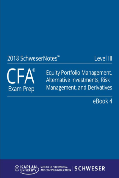 CFA 2017 Level III SchweserNotes Package -  Kaplan Schweser