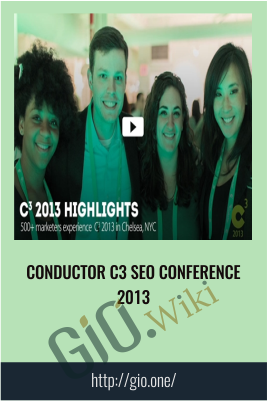 Conductor C3 SEO Conference 2013