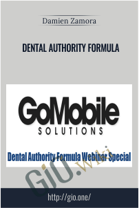 Dental Authority Formula – Damien Zamora