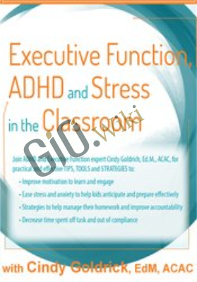 Executive Function, ADHD and Stress in the Classroom - Cindy Goldrich