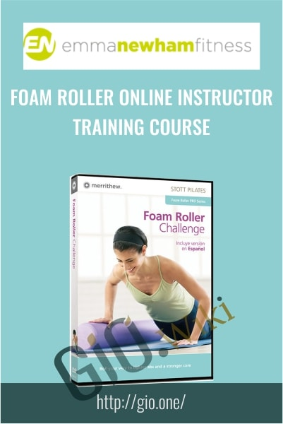 Foam Roller Online Instructor Training Course