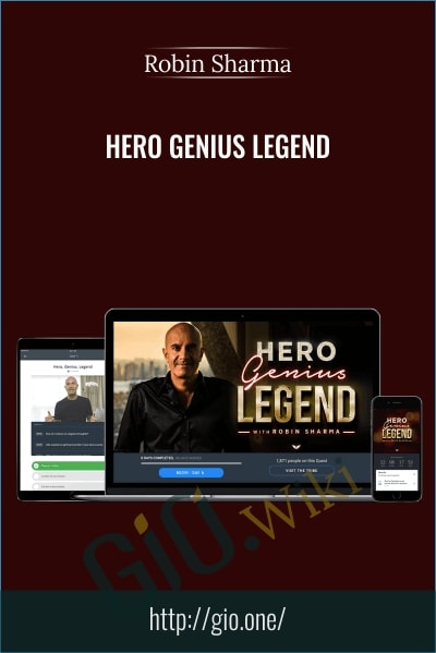 Hero Genius Legend - Robin Sharma