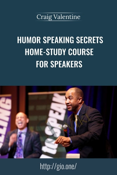 Humor Speaking Secrects