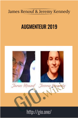 Augmenteur 2019 – James Renouf & Jeremy Kennedy