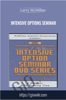 Intensive Options Seminar - Larry McMillan