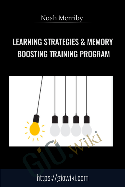Learning Strategies & Memory Boosting Training Program - Noah Merriby ​
