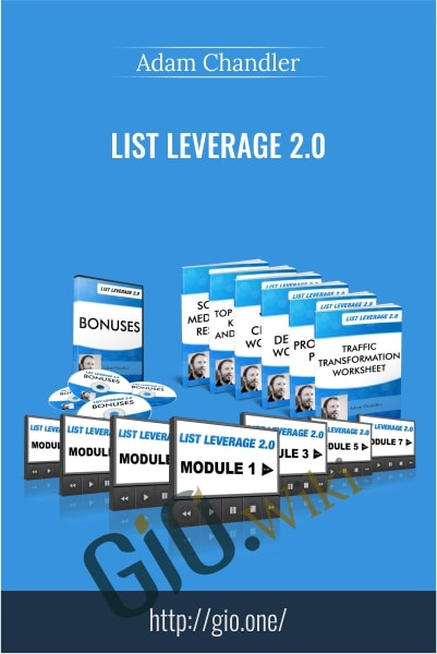 List Leverage 2.0 - Adam Chandler