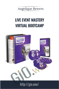 Live Event Mastery Virtual Bootcamp – Angelique Rewers