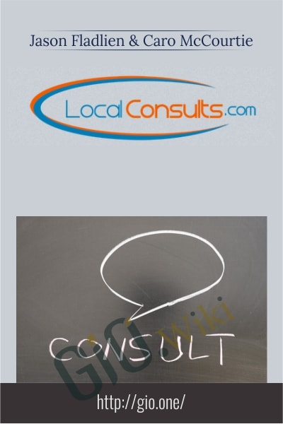 Local Consults - Jason Fladlien & Caro McCourtie