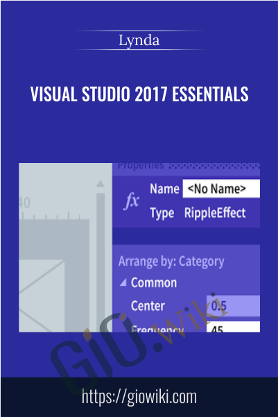 Visual Studio 2017 Essentials - Lynda
