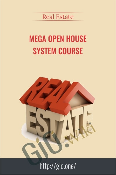 MEGA Open House System Course - Real Estate