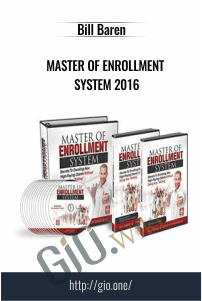 Master Of Enrollment System 2016 – Bill Baren