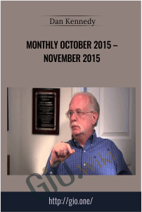 Monthly October 2015 – November 2015 – Dan Kennedy