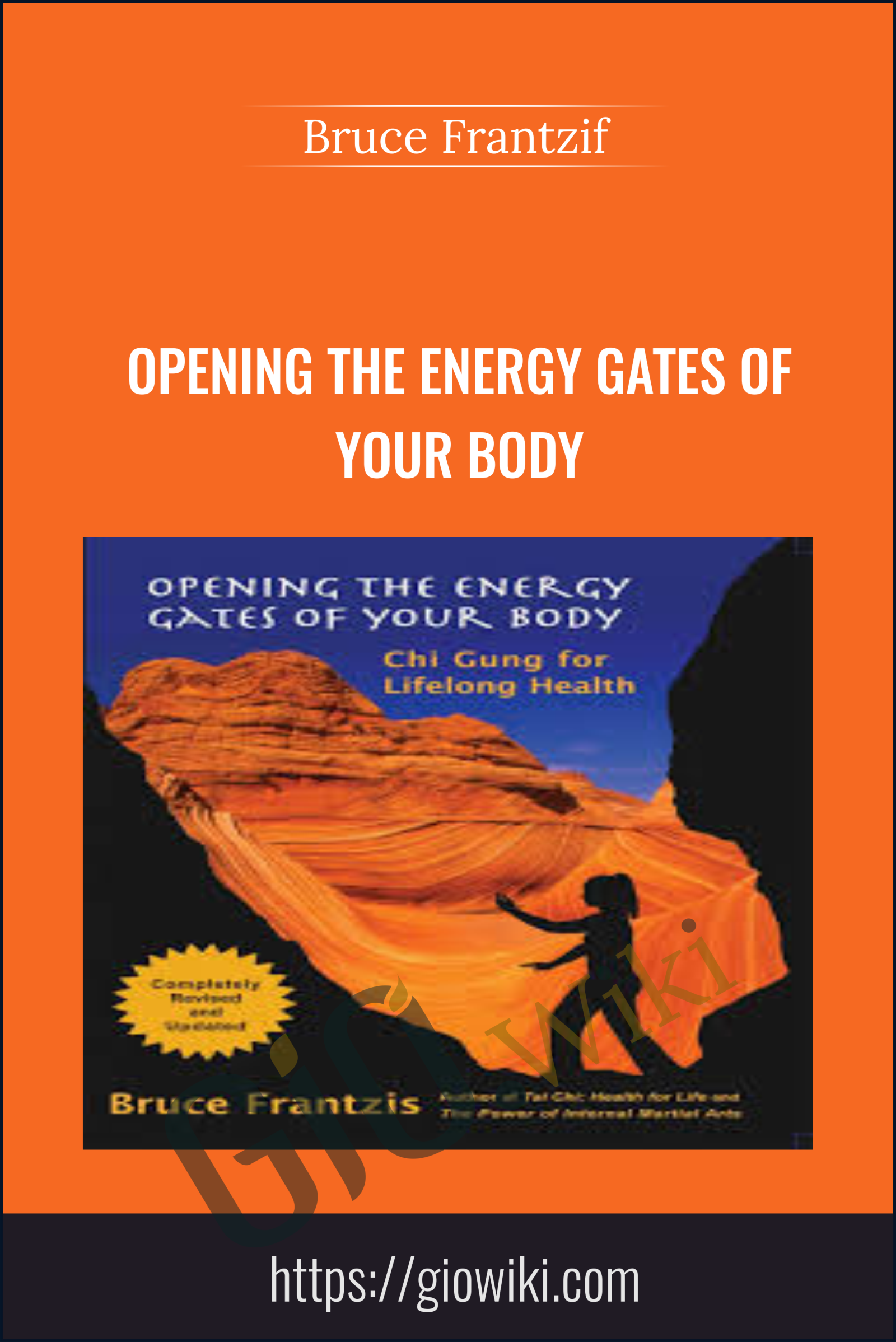 Opening The Energy Gates Of Your Body - Bruce Frantzif