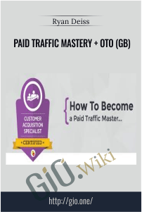Paid Traffic Mastery + OTO (GB) – Ryan Deiss