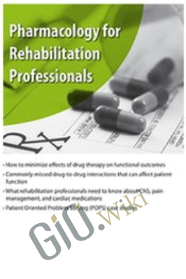 Pharmacology for Rehabilitation Professionals - Suzanne Tinsley