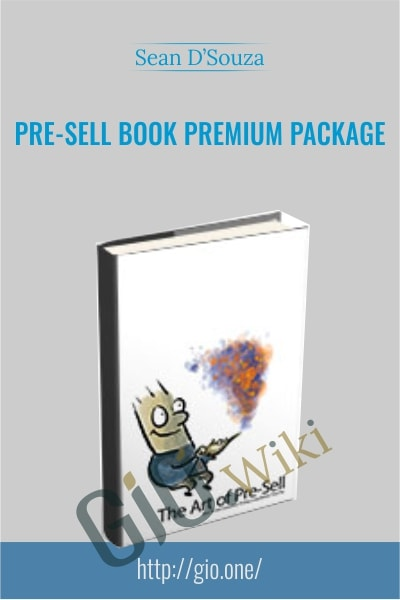Pre-Sell Book Premium Package - Sean D'Souza