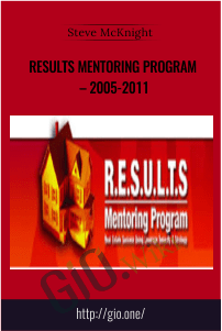 RESULTS Mentoring Program – 2005-2011 – Steve McKnight