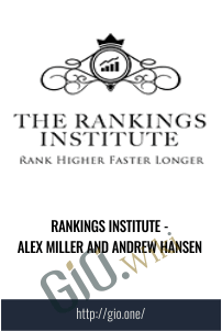 Rankings Institute - Alex Miller and Andrew Hansen