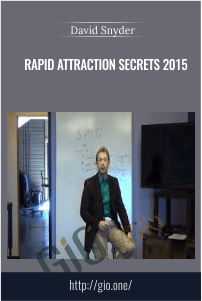 Rapid Attraction Secrets 2015 – David Snyder
