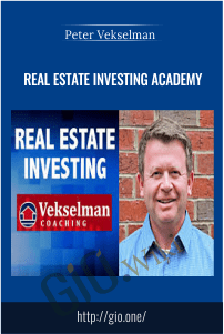 Real Estate Investing Academy - Peter Vekselman