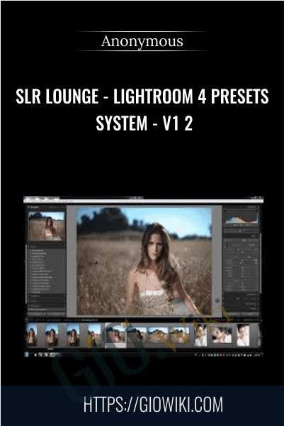 SLR Lounge - Lightroom 4 Presets system - V1 2